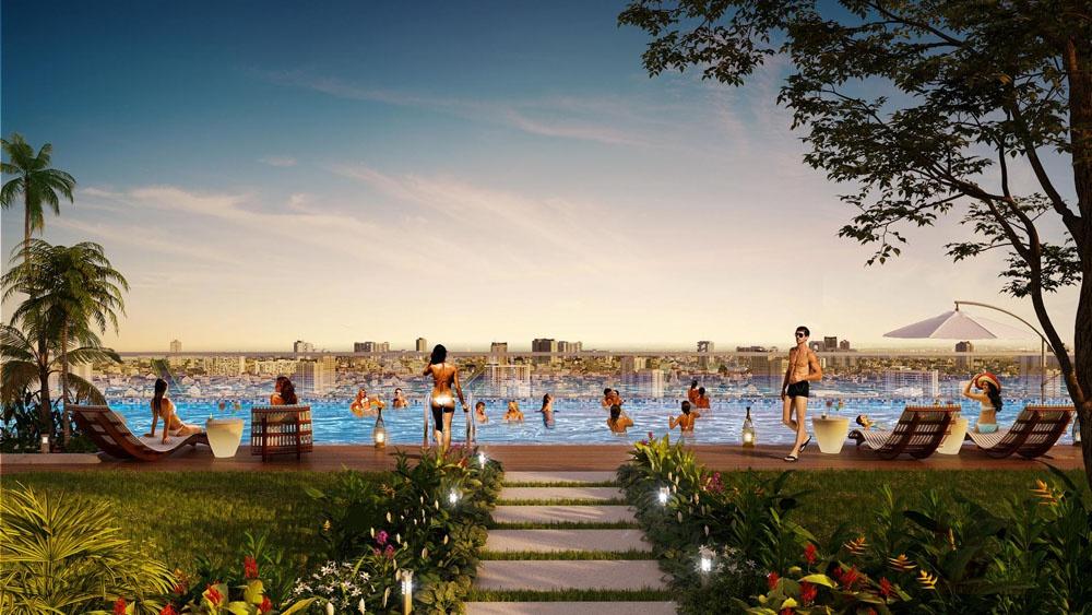 D-Homme đầu tư hồ bơi liên hoàn lớn bậc nhất TP.HCM