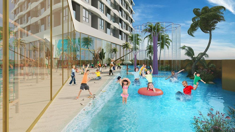 Dự án tổ hợp hồ bơi điện phân đồng đầu tiên tại trung tâm Chợ Lớn